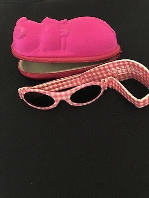 Baby Banz Sunglasses & Case. New Without Tags