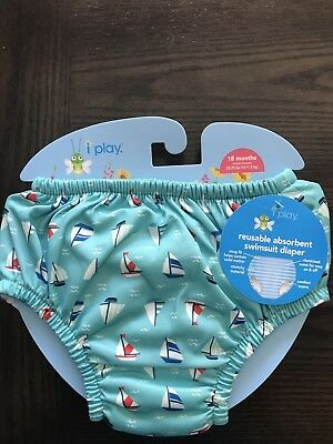 iplay reusable wim diaper 18 Months, new with tags