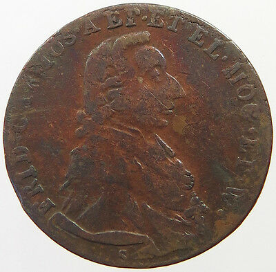 GERMAN STATES 1/4 KREUZER 1795 MAINZ   #oj 421