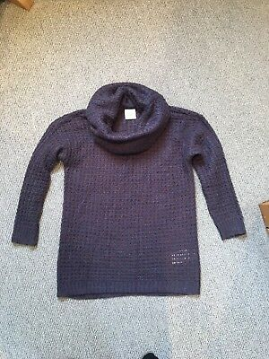 Mamalicious Mothercare Maternity Pregnancy Jumper Purple work office size Small