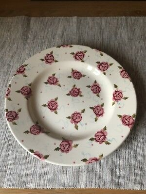 """Emma Bridgewater 8.5"""" Tiny Scattered Rose Side Plate - Unused First"""