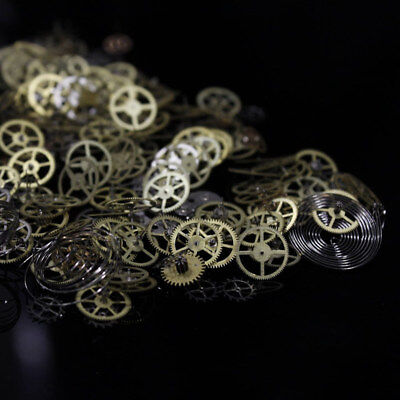 Lot of 50 g of antique watch spare parts Vintage steampunk for fun creatives vf