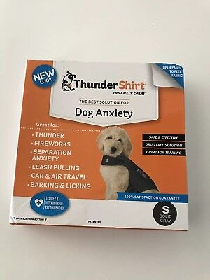 Thunder Shirt SMALL For Dogs Gray