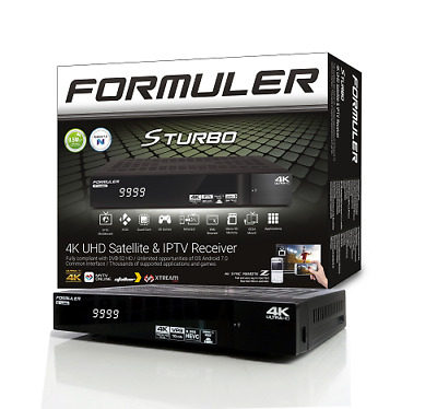 Formuler S Turbo 4K Hybrid IPTV Android & Satellite Receiver