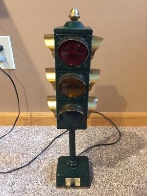 1960's B&B Bar Lamp Stop Light Traffic Signal Open | Closed | Last Call mancave