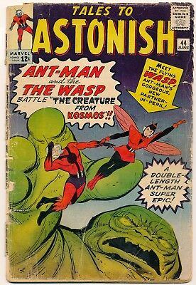 Tales to Astonish #44 1st Appearance of Wasp-- Lesser Grade Bargain