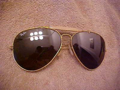 PAIR vintage Ray Ban Bausch Lomb Aviators sunglasses VERY NICE