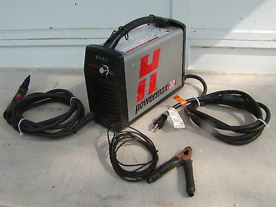 Hypertherm PowerMax 30 Plasma Cutter with 15 Ft  Torch  FREE SHIPPING