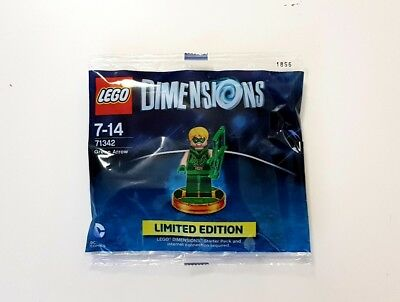 71342 Lego Dimensions - Green Arrow - Limited Edition - NEU