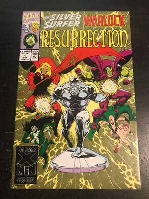 Silver Surfer/Warlock:Resurrection#1 Incredible Condition 9.4(1993)