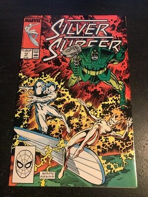 Silver Surfer#13 Incredible Condition 9.2(1988) Nova App