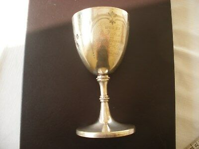 Davies Street Baths Mayfair London Victorian Swift Swimming Silver Plate Cup