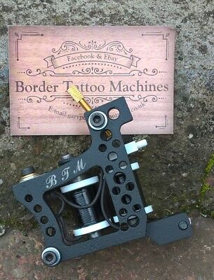 Border Tattoo Machine,cut-Back-Liner,custom Iron Frame Custom 8 Layer 32Mm Coils