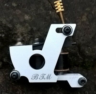 Border Tattoo Machine,packer Custom Micro Frame Black 10 Layer 25Mm Coils