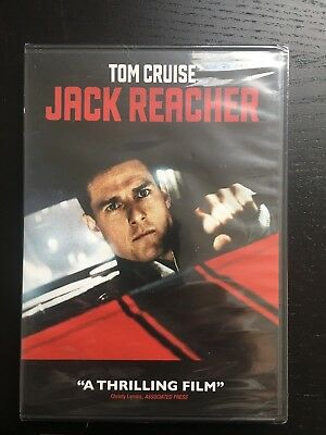 New Jack Reacher (DVD, 2013) Brand New Factory Sealed Free shipping