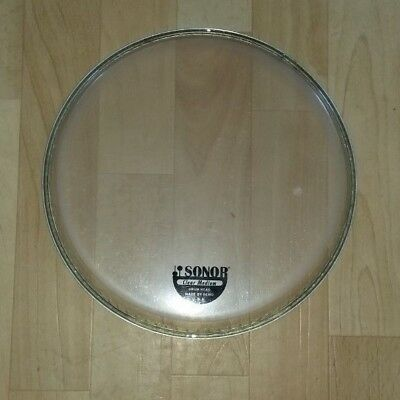"""Sonor Remo USA Fell 10"""" Clear 1 lagig"""