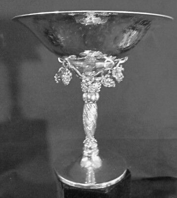 EP SILVER LARGE GRAPE COMPOTE**after Georg Jensen**Reproduction**
