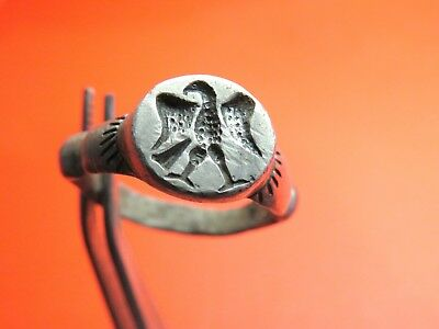 Ancient Silver Roman Ring.