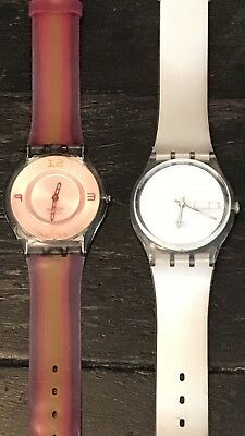 2 Vintage Swatch watches