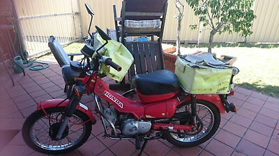 HONDA CT110 Postie Bike with Carry bags - Registered