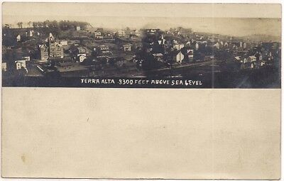 1906 Udb Terra Alta Wv West Virginia Preston County Postcard