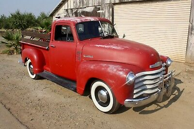 1953 Chevrolet Other Pickups DeLuxe 1953 Chevrolet pickup, Short Bed, 1/2 Ton, Daily Driver