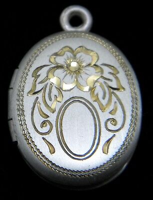 Oval Sterling Silver Hand Engraved lockets, Many sizes and styles to choose .925