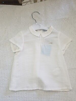 Foque baby shirt 12mths