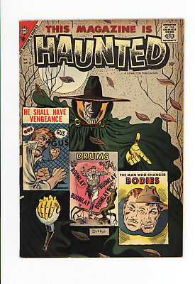 This Magazine Is Haunted #13 - High Grade Vf 7.5 - Rare! 1957  Ditko Cover & Art
