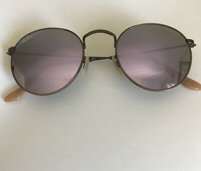 3fa978bde1 RAY-BAN RB3447 167 4K DEMIGLOS BRUSHED BRONZE ROUND METAL Men s Lens ...