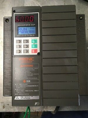 10HP Fuji frenic 5000G11 AC DRIVE 200-240VAC CAN BE USED AS PHASE CONVERTOR