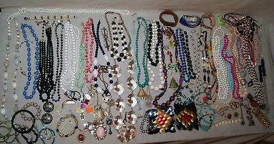 Vintage Junk Drawer Jewelry Lot Estate Find UNSEARCHED UNTESTED Over 5 lb