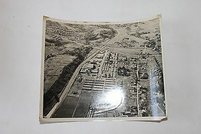 Aerial view of Signal Corps School Sept 3, 1948 Hiyashi, Japan