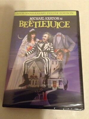 BeetleJuice DVD 20th Anniversary Deluxe Edition(128)