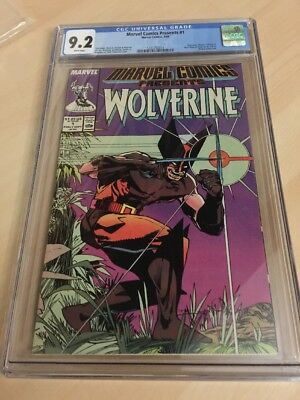 1988 Wolverine #1 Comic White Pages CGC 9.2 Beauty First Issue
