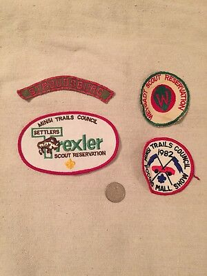 Group Of Minsi Trails Patches Weygadt Trexler Stroudsburg