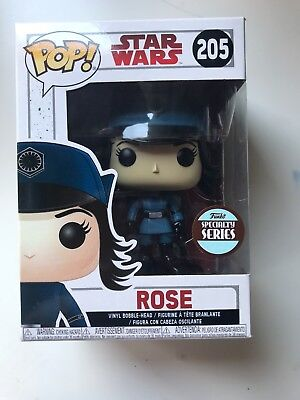 Rose in Disguise - Star Wars The Last Jedi Specialty Series Funko Pop #205