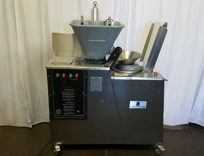 SCALE-O-MATIC S300 Dough ROUNDER DIVIDER AM Manufacturing ATWOOD  > with video <