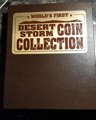 Rare Desert Storm 30 Coin Collection $5 Hutt River Province New Queensland Mint.