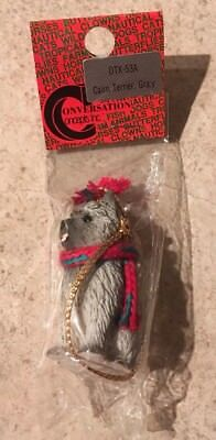 Cairn Terrier Grey Ornament Mini Dog Tiny Ones by Conversation Concepts New
