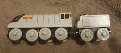Spencer and Tender - Wooden Toy Train - Thomas the Tank Engine and Friends
