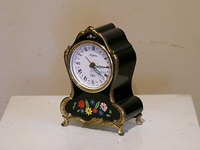 Blessing-Werke music box  alarm clock made in W. germany GWO excel cond
