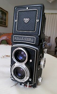 Rolleicord Vb type II TLR medium format camera