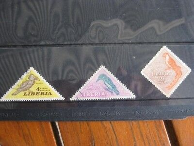 LIBERIA - Three Old Good Used Stamps
