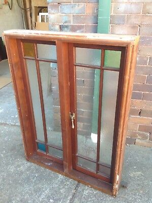 Timber casement window. Used, good condition