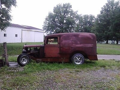 1936 International Harvester panel  project cars