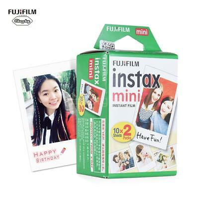 20 Sheets Photo Film Snapshot Instant for Fujifilm Instax Mini 7s 8 25 90 Camera