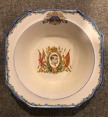 Coronation Bowl Of King Edward VIII Genuine Authentic Rare Bone China May 1937