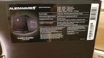 Alienware Graphics Amplifier Brand New Sealed in Box