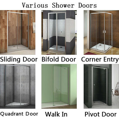 Sliding/Bifold/Corner Entry/Pivot/Quadrant Door/ Wet Room Shower Door Enclosure